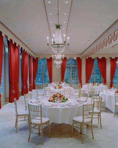 The class of this Estate Ballroom could rival the Queen's Palace.