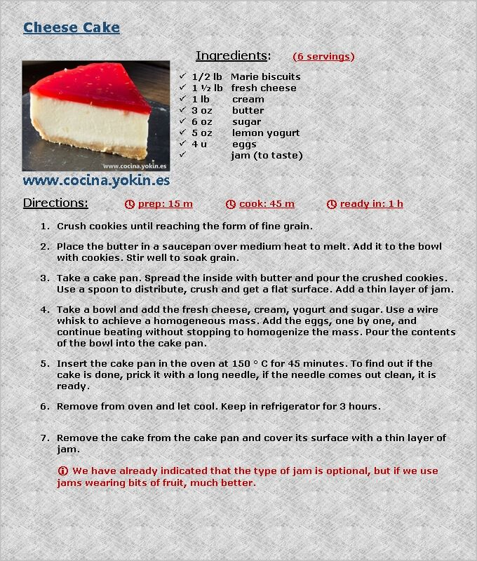 This Recipe And Many More On My Website Recipe Steps Cheesecake Recipes Recipes
