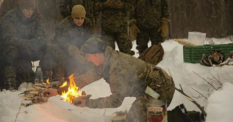 How To Start a Fire: SERE Survival