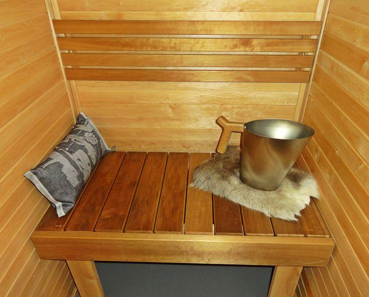 Decorate your sauna!