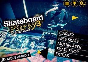 Skateboard Party 3 ft. Greg Lutzka iPad App Video Review - http://crazymikesapps.com/skateboard-party-3-ipad-app-video-review/?Pinterest
