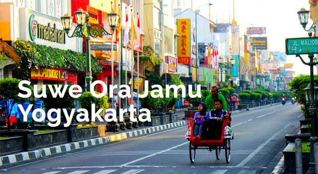 Lirik Lagu Suwe Ora Jamu - Yogyakarta