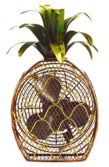 DecoBREEZE Pineapple Figurine Fan   Nordstrom