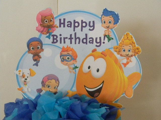 Bubble+Guppies+Cake+Topper+by+BabycakesCakeToppers+on+Etsy,+$12.00