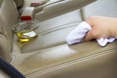 How to Make a Homemade Remedy for Cleaning Leather Car Seats | eHow