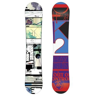 K2 Raygun Wide Rocker Snowboard