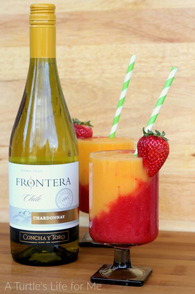 These wine slushies are so refreshing and you only need 3 ...