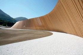 Biombo alabeado: Cino Zucchi en Lugano (Suiza)   Solucionista