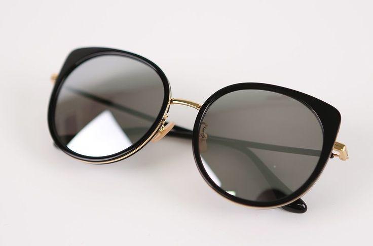 "Limelight Korean Eyewear Fashionable Wearable Sunglasses ""Holly C BK"" Black   eBay"