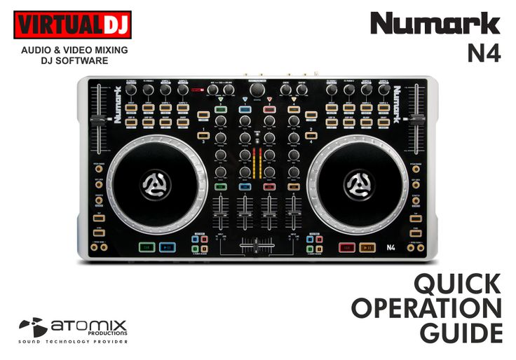 VIRTUAL DJ SOFTWARE - Hardware Manuals - Numark - N4