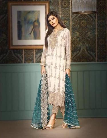 494ec53d5946 ASIM JOFA CHIFFON SUIT - Replica - Unstitched. ASIM JOFA CHIFFON SUIT -  Replica - Unstitched Online Dress Shopping
