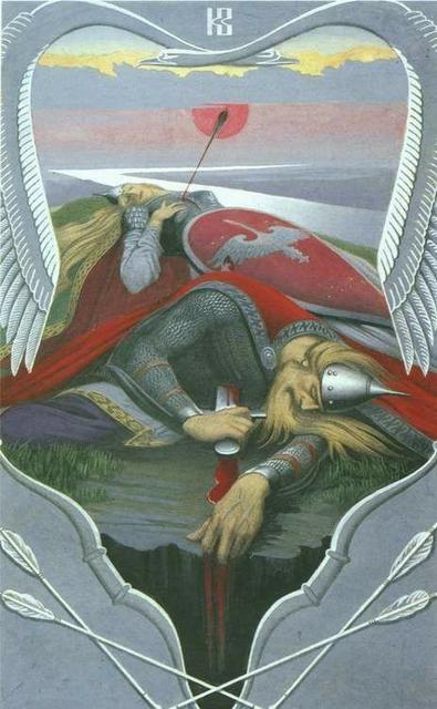 Дунай и Добрыня сватают невесту князю Владимиру   Былины