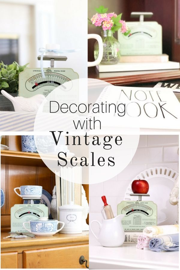 Peachy Old Vintage Scales Decor Ideas Diy Home Decor Ideas Home Remodeling Inspirations Basidirectenergyitoicom