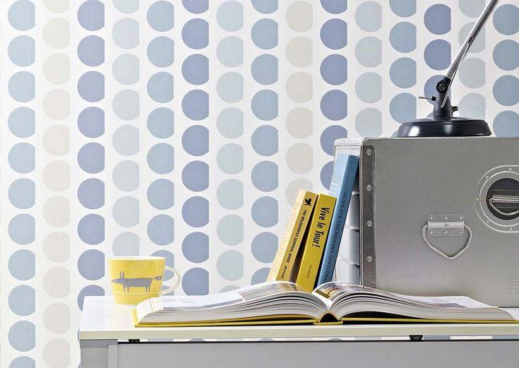 €64,90 Precio por rollo (por m2 €12,41), Papel pintado rayas, Material base: Papel pintado TNT, Superficie: Liso, Aspecto: Efecto impreso a mano, Mate, Diseño: Elementos gráficos, Color base: Blanco crema, Color del patrón: Azul verdoso pálido, Gris azulado, Turquesa pastel claro, Gris sílex, Características: Buena resistencia a la luz, Difícilmente inflamable, Fácil de desprender en seco, Encolar la pared, Resistente al lavado