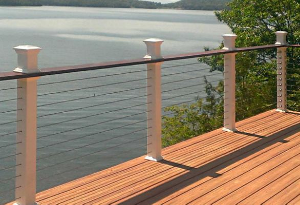 Delighted Wire Cable Deck Railings Cable Railing Deck Deck