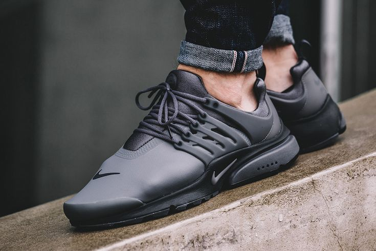 The Nike Air Presto Low Utility Comes In Dark Grey And Anthracite