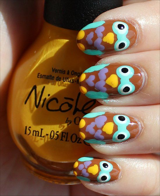 122 Nail Art Designs That You Won T Find On Google Images: 25+ Best Ideas About Owl Nail Art On Pinterest