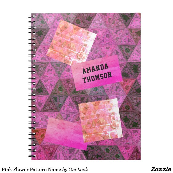 Pink Flower Pattern Name