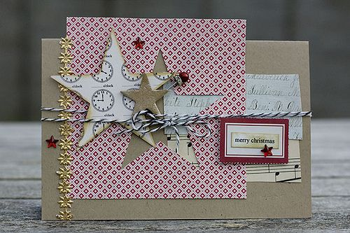 jbs inspiration: Christmas Card with Red/Black Extension