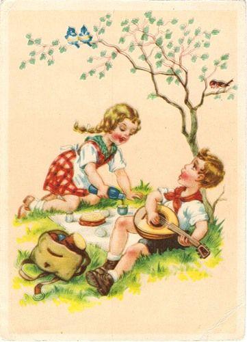 довоенные открытки германии торговых центров