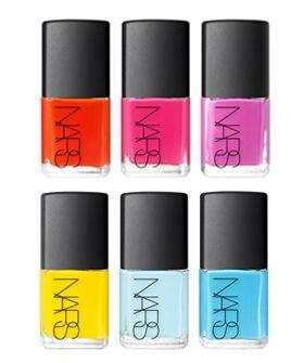 NARS e Thakoon's esmaltes: Nars Nails, Nail Polish, Nails Colors, Thakoon Nails, Neon Nails, Summer Nails Polish, Summer Colors, Bright Colors, Bright Nails