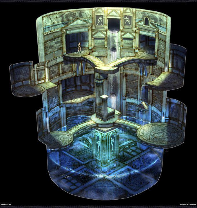 Christian Piccolo: Tomb Raider Concept Art