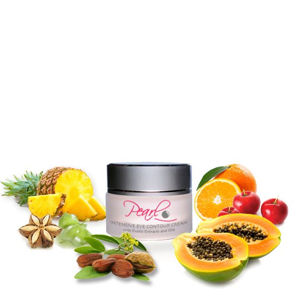 Pearl Natural Intensive Eye Contour Cream