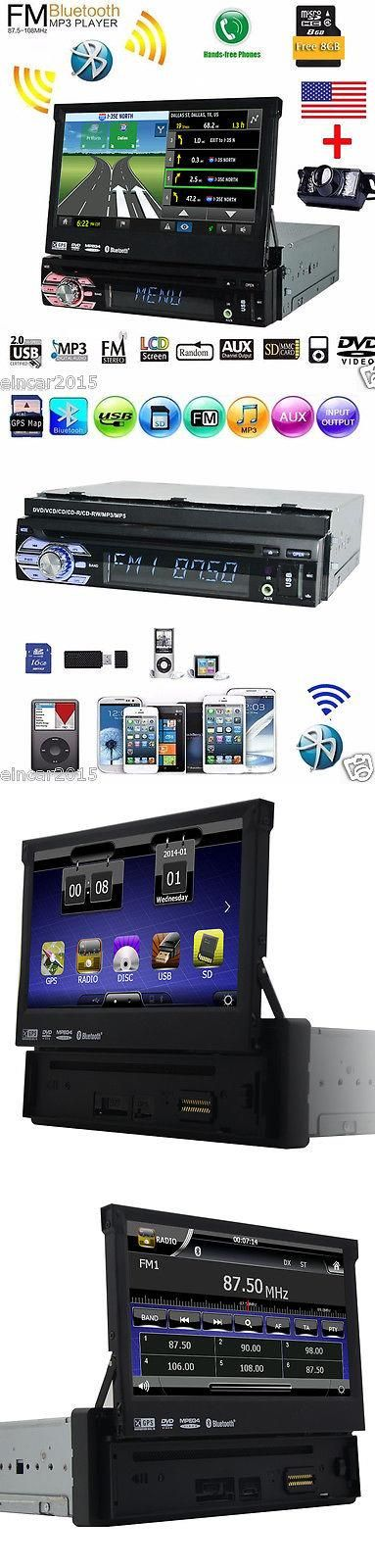 Car Audio Video And GPS: Single 1 Din Car Stereo 7 In-Dash Video Dvd Player Windows Ce Auto Radio Camera BUY IT NOW ONLY: $189.77 #priceabateCarAudioVideoAndGPS OR #priceabate