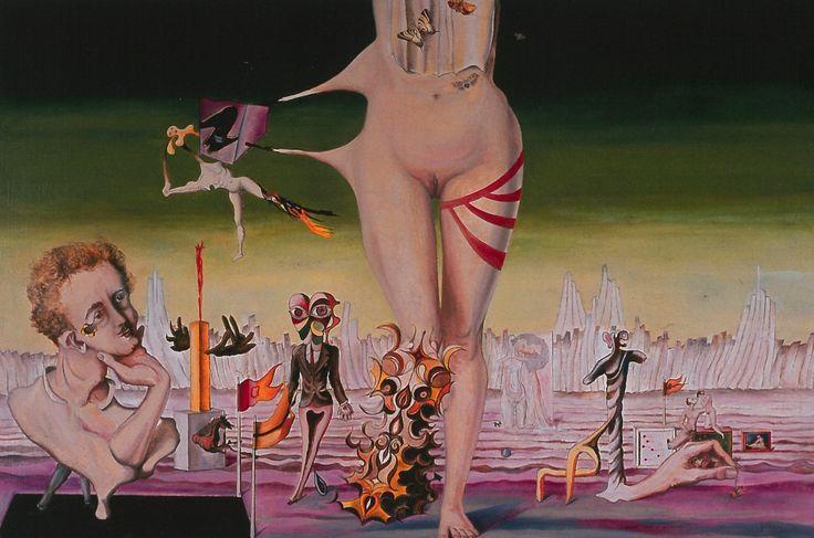 Triumphs and Enigmas of Joy by Wilhelm Freddie, 1935. Oil on canvas.