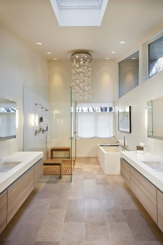 255 best Salles de Bain images on Pinterest Modern bathrooms
