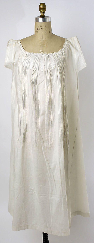 Chemise, 1862, cotton