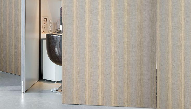 Allegri, Rimini: Subtle natural patterns, interwoven with metallic fibres for a rich textured finish.