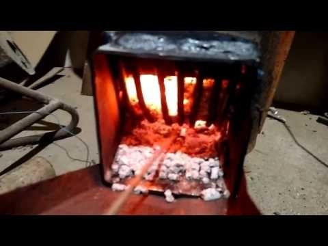 Gorionik na pelet - YouTube
