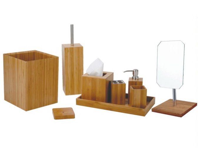 Bathroom Accessories Set Bamboo  Ideas 20172018  Pinterest Brilliant Bamboo Bathroom Accessories Decorating Design