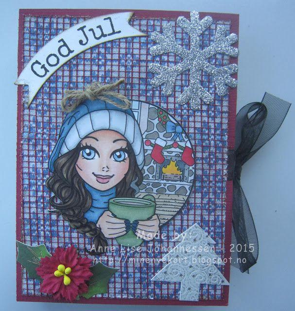 Mine Prosjekter: Tealight card