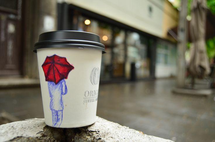 weare coffee when it rains