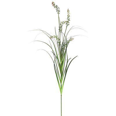 Laurel Foundry Modern Farmhouse PVC Artificial Flowering Grass