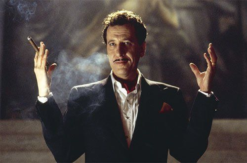 House on Haunted Hill (1999). Gregory Peck as Steven Price. He so looks like Vincent Price in this movie.