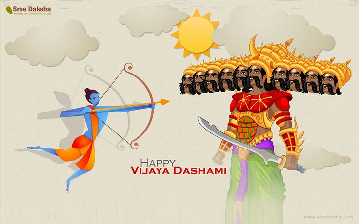 Sree Daksha Property Developers wishing you a Happy Vijaya Dashami...Enjoy the victory of Truth over Evil. Here we share you why do we celebrate Vijaya Dashmi? Dussehra, also known as Vijayadashmi, is a major Indian festival celebrated on the tenth day of Ashvin month according to the Hindu calendar. This day falls in the month of September or October. The day culminates a 9 day fasting period of Navratri in the Hindu culture. The day also coincides with immersion of the idol of Goddess…