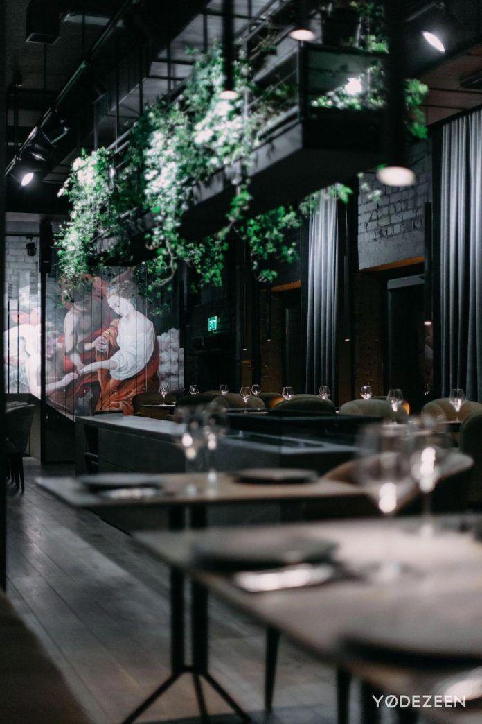 TOLSTYIu0026TONKIY Restaurant, A Game Of Lights And Shadows In Kiev   CAANdesign