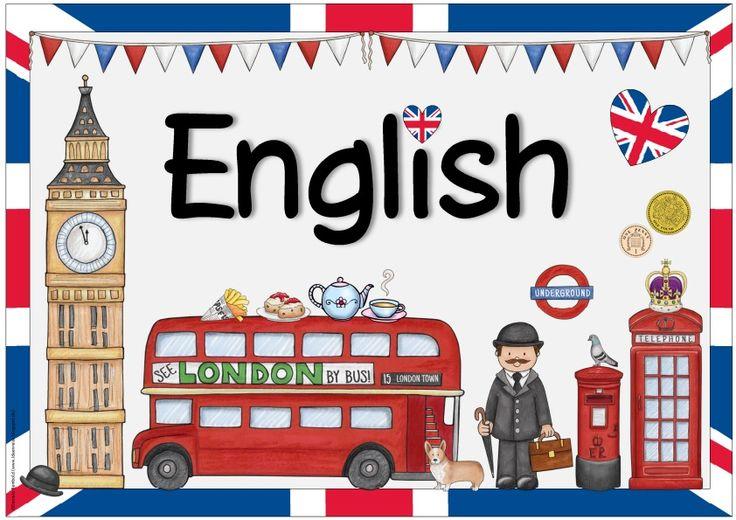 Englischplakat (vier Varianten)    Ich habe eure Wünsche/Ideen/Anregungen gesammelt und nun noch vier weitere Plakate mit den gewünschten A...