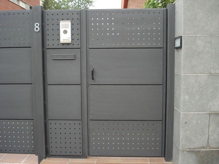 Puertas y vallas residenciales acabados puertas y - Puertas de valla ...