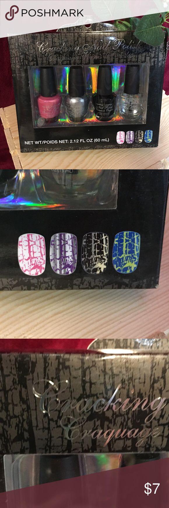 Crackling Nail polish Brand-new box of crackling nail polish never opened. Other