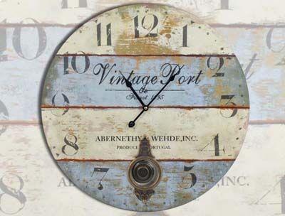 Relojes de pared retro. | Mil Ideas de Decoración