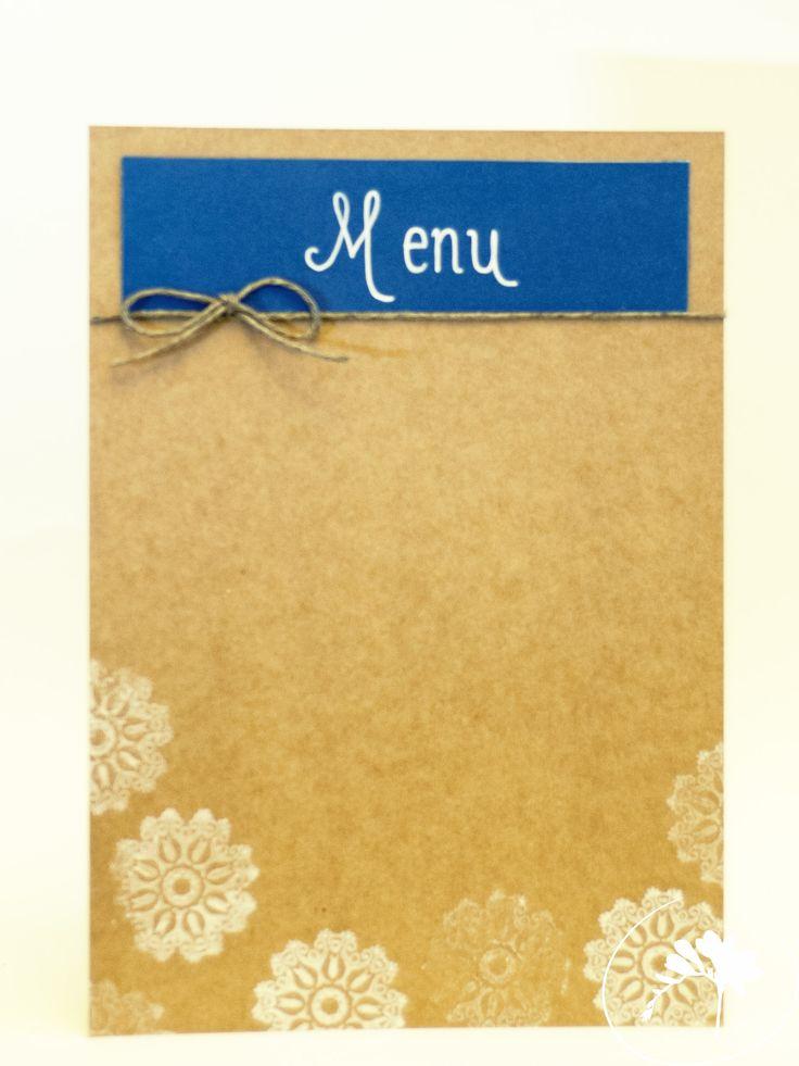 menu winter wedding invitation rustic blue DIY handmade love zimowe wesele zaproszenia ślubne moje wielkie wiejskie wesele