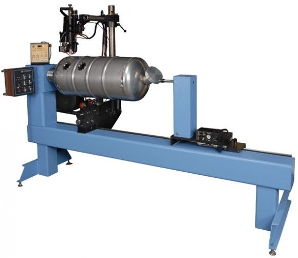 #Circumferential #seam #welding #lathe is primarily made of stainless steel and carbon steel...http://goo.gl/EDdOrX