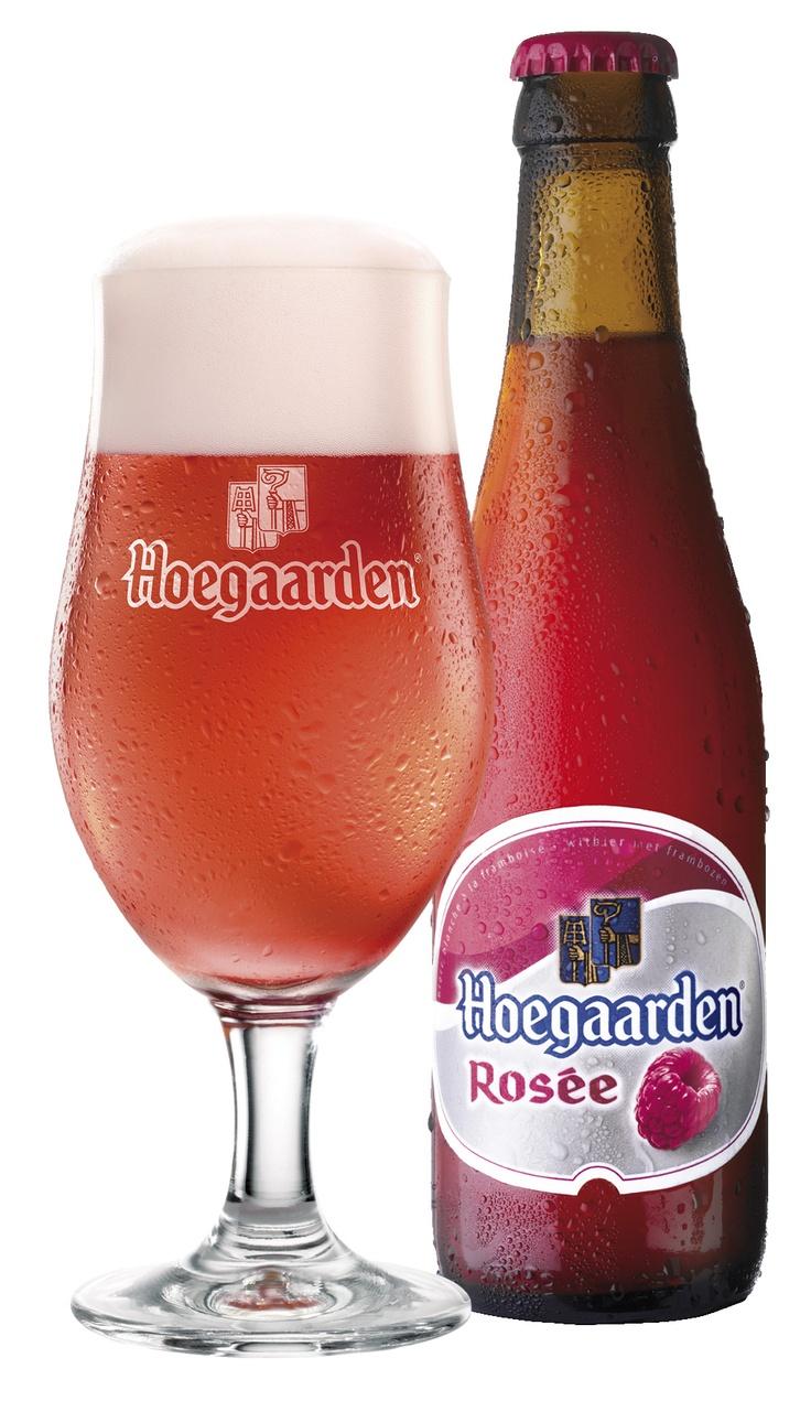 Hoegaarden Rosée แบบขวดยังไม่มีขายในไทยเลย T_T