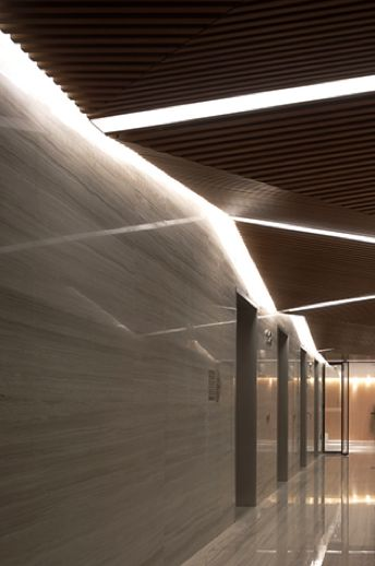 Retail interior design in Raffles City, Beijing by Spark Architects