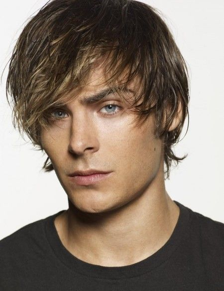 Zac Efron Long Mens Hairstyle Shaggy Blonde Hair