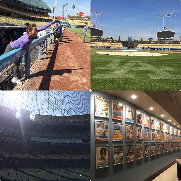 THINK BLUE: The Dodger Stadium Tour 韓国からのお友達がレンタカーを借りれなくなるというハプニング 急遽一緒にスタジアムツアーへ スタジアムのあれこれ裏側を見られるツアーは$20 Highlights of this 80-90 minute tour may include: A trip down to the field at Dodger Stadium A visit into the Dodger Dugout An exclusive look at the Lexus Dugout Club VIP restaurant and lounge located behind home plate home to the World Series trophies Most Valuable Player (MVP) Cy Young Silver Slugger and Rookie of the Year awards 野茂の直筆モノもあったり最高 DodgersのTシャツを着て行きたかった #lalife…